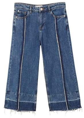 MANGO Culotte relaxed jeans