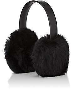 Crown Cap MEN'S RABBIT FUR EARMUFFS