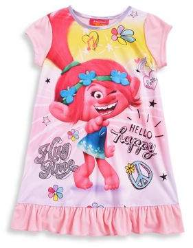 AME Sleepwear Little Girl's Graphic Nightgown