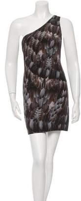 Emma Cook Silk One-Shoulder Dress w/ Tags