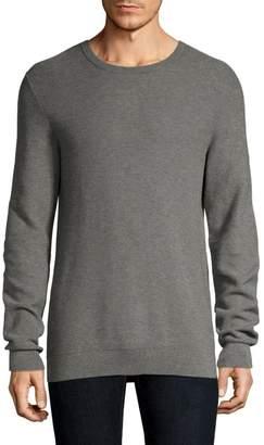 Theory Riland Pique H.Breach Cotton Sweater