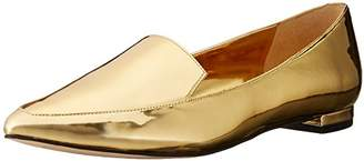 Nine West Women's Abay Patent Pointed Toe Flat