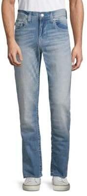 True Religion Straight Flap Back Pocket Jeans