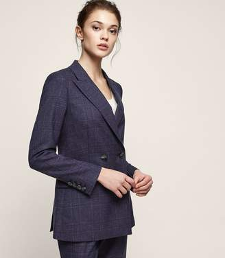 Reiss Cora Jacket Double-Breasted Blazer