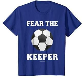 Fear The Keeper Shirt - Funny Goalkeeper Soccer Shirts