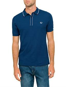 Fred Perry Tipped Placket Pique Polo Shirt