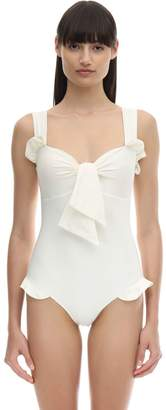 Paper London RUFFLED ONE PIECE SWIMSUIT