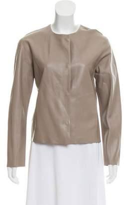 J Brand Lightweight Leather Jacket