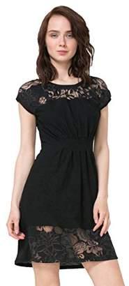 Desigual Women's Moon Knitted Short Sleeve Dress