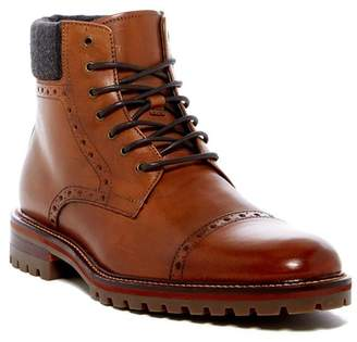 Johnston & Murphy Karnes Brogue Cap Toe Boot