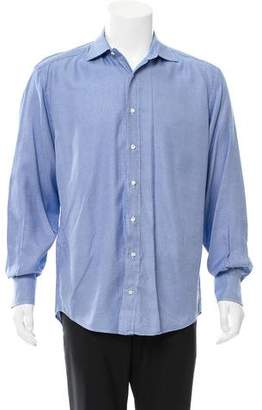 Etro Patterned Button-Up Shirt