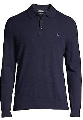 Polo Ralph Lauren Men's Collared Cashmere Sweater