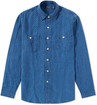 Polo Ralph Lauren Star Print Work Shirt