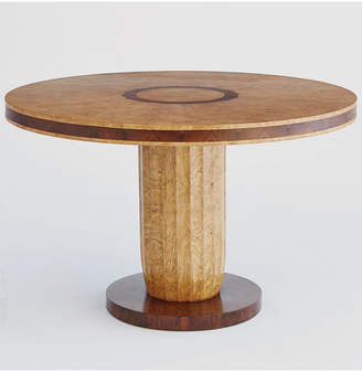 Global Views Taper Fluted Dining Table