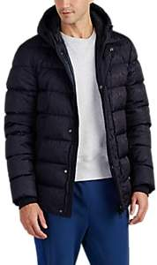 Herno Men's Anniversary-Patterned Down Jacket - Navy