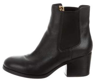 Tory Burch Leather Chelsea Boots