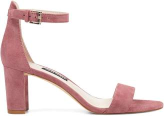 Nine West Leather Ankle Sandals