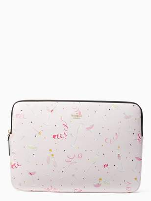 Kate Spade champagne print universal laptop sleeve
