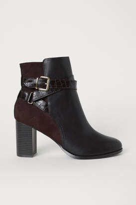 H&M Ankle Boots - Brown