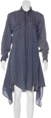 Etoile Isabel Marant Button-Up Midi Dress