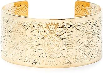 Forever 21 Ornate Etched Cuff