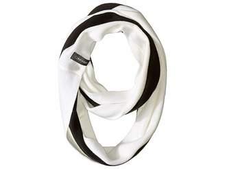 Calvin Klein Bold Stripe Infinity Scarf