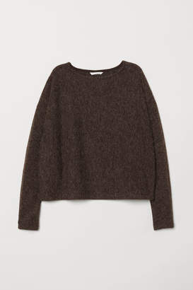 H&M Sweater with Dolman Sleeves - Beige