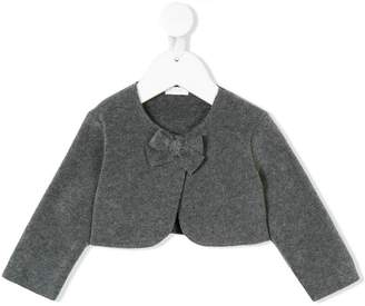 Il Gufo bow detail cardigan