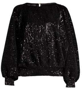 RtA Pippa Sequin Sweater