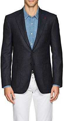 Isaia Men's Sanita Wool-Cashmere Two-Button Sportcoat