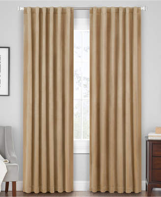 "Hudson Hill Velvet 50"" x 63"" Rod Pocket/Tab Top Window Panel"