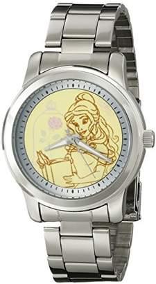 Disney Women's W001821 Belle Analog Display Analog Quartz Silver Watch