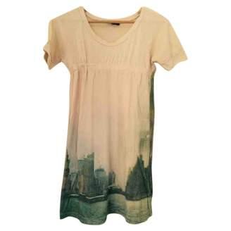 Ikks Ecru Cotton Dress for Women