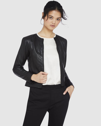 Oxford Carly Leather Jacket
