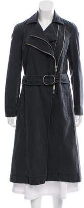 Helmut Lang Long Denim Coat