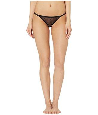 DKNY Intimates Monogram Mesh String Bikini