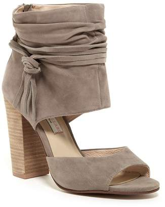 Kristin Cavallari by Chinese Laundry Leigh Ruched Block Heel Sandal