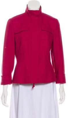 Akris Punto Structured Long Sleeve Blazer