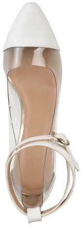 Journee Collection Women's Almond Toe Ankle Strap Pump
