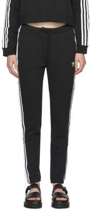 adidas Black Regular Cuff Track Pants