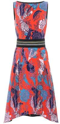 Peter Pilotto Floral-printed cady dress