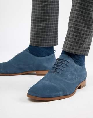 KG by Kurt Geiger KG Kurt Geiger Oxford Shoes In Navy Suede