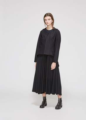 Yohji Yamamoto Wool Back Panel Fitted Jacket