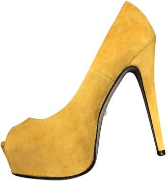 225cba0ff680 Yellow Suede Heels - ShopStyle UK