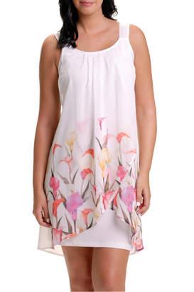 Bali Draped Floral Dress