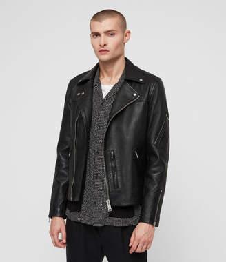 AllSaints Uni Leather Biker Jacket