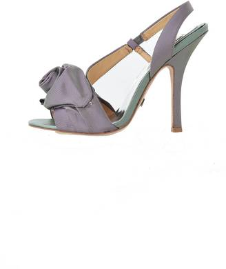 Badgley Mischka Iridescent Rose Slingback $210 thestylecure.com