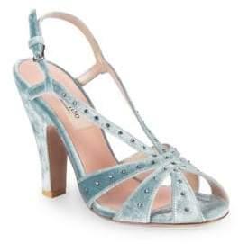 Valentino Studded Slingback Sandals