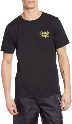 Saturdays NYC Script Logo Graphic T-Shirt