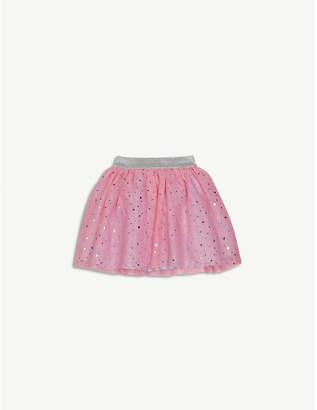 Billieblush Billie Blush Sequinned glitter waistband mesh tutu skirt 9-36 months